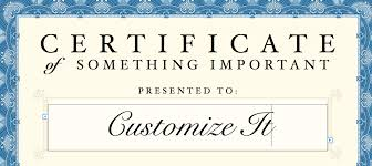 Free Blank Gift Certificate Templates Customizable Certificate Templates Scholarship Certificate Hloom