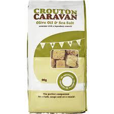 crouton caravan dressing olive oil and salt 90g woolworths