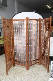 beautiful rare geometric frank lloyd wright room divider or screen