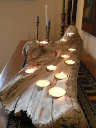driftwood home decor driftwood rustic candle holder large driftwood candle holder
