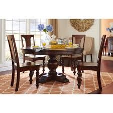 Colonial Dining Room Colonial Plantation Round Dining Set By Home Trend U0026 Design