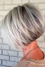 stylish cuts for gray hair best 25 short bob hairstyles ideas on pinterest short bobs