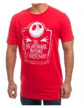 the nightmare before arms crossed mens t shirt
