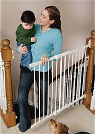 Child Safety Gates For Stairs With Banisters Safer Babies Baby Proofing Products Media Pa