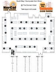 Dealer Floor Plan Dealer List U0026 Floor Plan Norcal Coin Shows