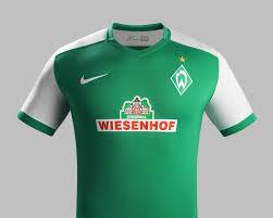 Home Kit Modern Werder Bremen Home Kit For 2015 16 Nike News