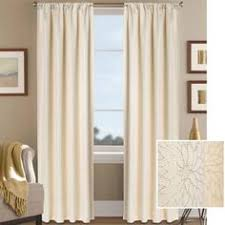 Better Homes And Garden Curtains Better Homes And Gardens Scallops With Poms Curtain Panel Image 1