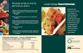 funeral advantage leave brochure