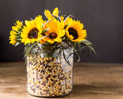 Mason Jar Floral Centerpieces Easy Fall Decorating With Apothecary Jars Hearth U0026 Vine
