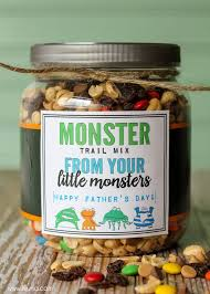 fathers day unique gifts trail mix s day gift