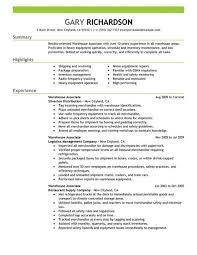 10 Great Good Resume Objectives Slebusinessresume Com - warehouse worker resume description 28 images doc with 28 more ideas
