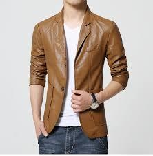 aliexpress buy 2016 new european men 39 s new brand men s blazer jacket men soft pu leather coat