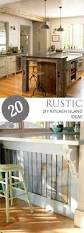 Diy Kitchen Cabinet Ideas by Best 25 Rustic Kitchen Island Ideas On Pinterest Rustic