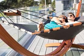 free standing wooden hammock bonjourlife