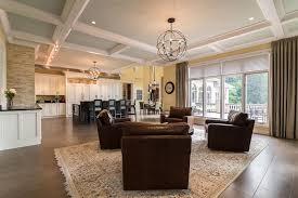 custom home interiors mi kitchen family room renovation canton mi kastler construction inc