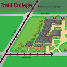 Canada College Map by Moving In Housing Trent University