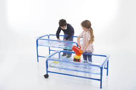 Sand Table Ideas Sunshiny Water Play Tray And Cm Clear Water Play Table Cm Clear