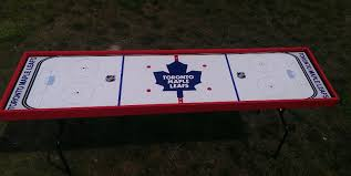 Hockey Beer Pong Table Portfolio Mutha Shuckers