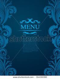 wedding backdrop design template vintage royal vector design template stock vector