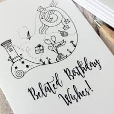 belated birthday wishes messages greeting and poems
