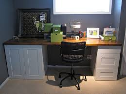 how to make a desk from kitchen cabinets diy built in desk using kitchen cabinets after cutting off toe kick