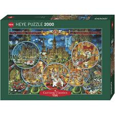 2000 pcs jigsaw puzzle ryba crime scene castles art heye 29407 ebay