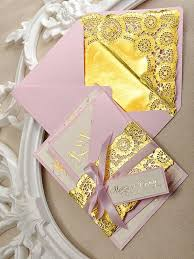 pink and gold wedding invitations gold and pink wedding invitation wedding gold embossed