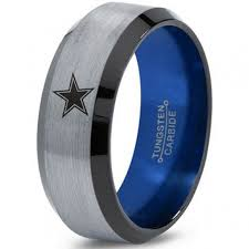 wedding rings dallas black tungsten ring with domed edge 8mm tungsten wedding band