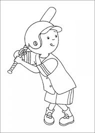 8 images caillou christmas coloring printable free