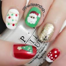 82 best winter christmas nail art images on pinterest holiday