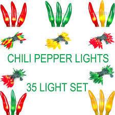 chili pepper lights ebay