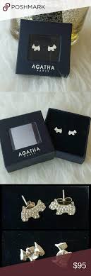 agatha earrings agatha sottishpave earrings crystals conditioning and