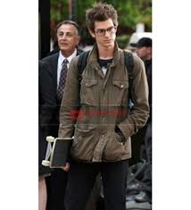 Peter Parka Amazing Spider Man Peter Parker Twill Jacket
