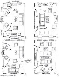 How To Design A Narrow Living Room by Arranging Furniture Twelve Different Ways In The Same Room Fred