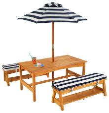 kidkraft nantucket 4 piece table bench and chairs set kidkraft kids 4 piece writing table and chair set reviews wayfair