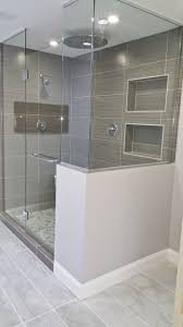 bathroom floor and shower tile ideas we upgraded this 1980 s style bathroom to a modern design we d