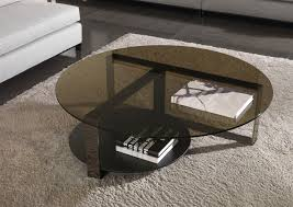 Coffee Tables Glass by Contemporary Coffee Table Glass Round Square Bresson Minotti