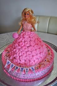 21 cake design images barbie dolls doll