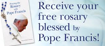 rosaries blessed by pope francis praying the rosary with pope francis diocese of orlando florida