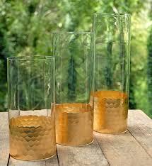 Cylinder Vase Centerpiece by Gold Honeycomb Cylinder Vase 10 Gold Dipped Vases Crafts I U0027ll
