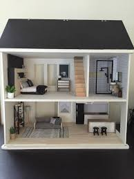 wooden doll house in dolls bears houses miniatures houses