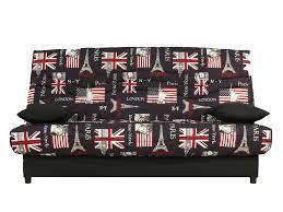 housse canap clic clac but banquette clic clac drapeau anglais décoration d intérieur table