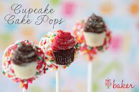 rainbow sprinkle cupcake cake pops pint sized baker
