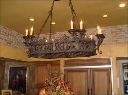 kitchen rustic wooden light fixtures white wood chandelier
