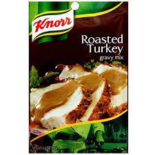 turkey gravy mix knorr roasted turkey gravy mix 1 2 oz pack of 12 walmart