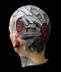41 biomechanical tattoos designs from future 2018