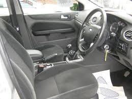 used ford focus tdci used silver ford focus 2007 diesel 2 0 tdci ghia 5dr hatchback in