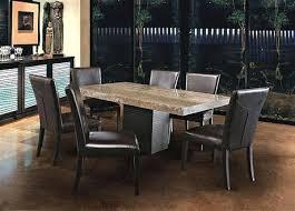 cuisine travertin table cuisine marbre jc perreault salle a manger contemporaine jcp