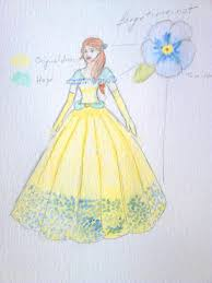 beauty and beast 2017 belle concept dress by sagitta rose on
