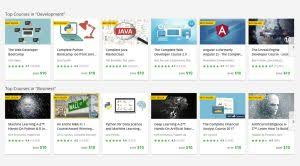 et deals thousands of online courses from udemy for just 10 each